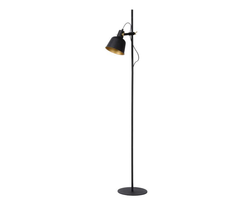 PIA Vloerlamp E27/40W Zwart