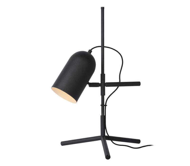 EDEK Tafellamp E27/40W Zwart
