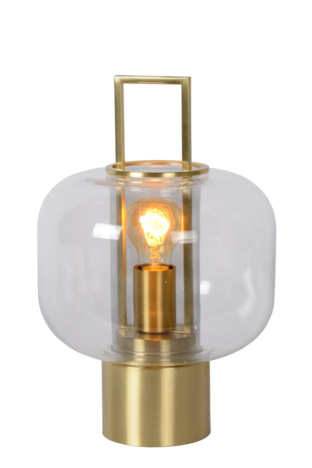 Lucide SOFIA Tafellamp-Mat Go.-Ø24-1xE27-40W-3 StepDim