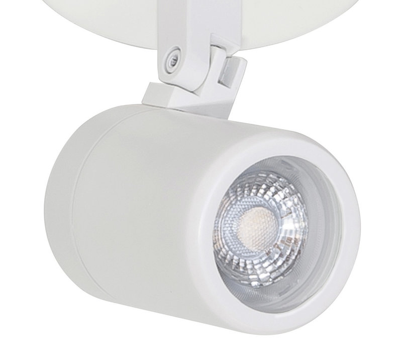 Spot Rain 1 lichts IP44 wit