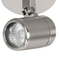 Spot Rain 2 lichts rond IP44 mat chroom