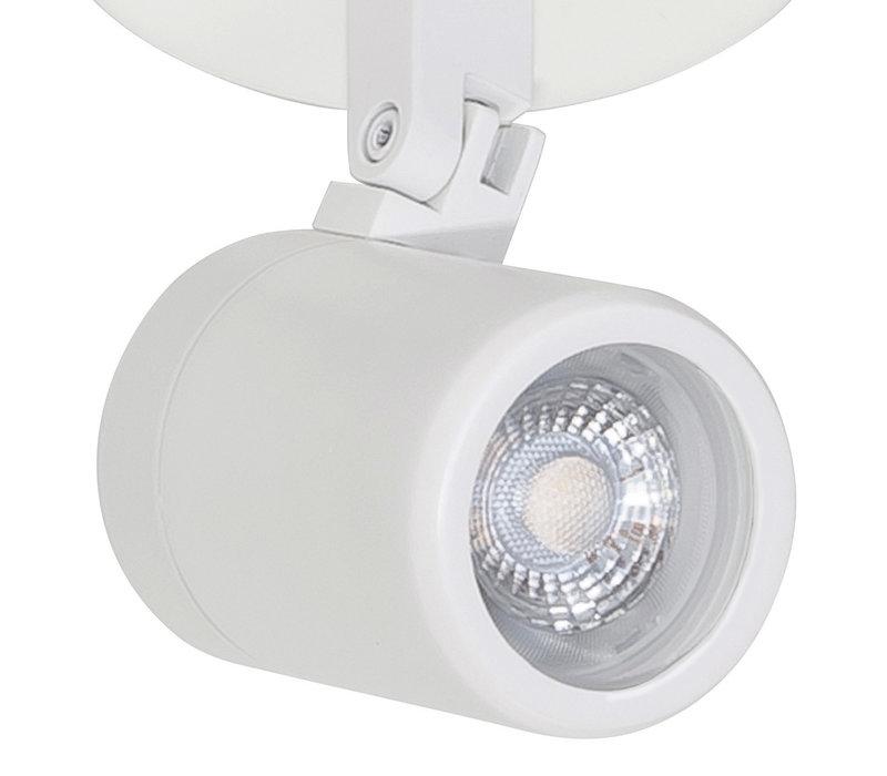 Spot Rain 2 lichts rond IP44 wit