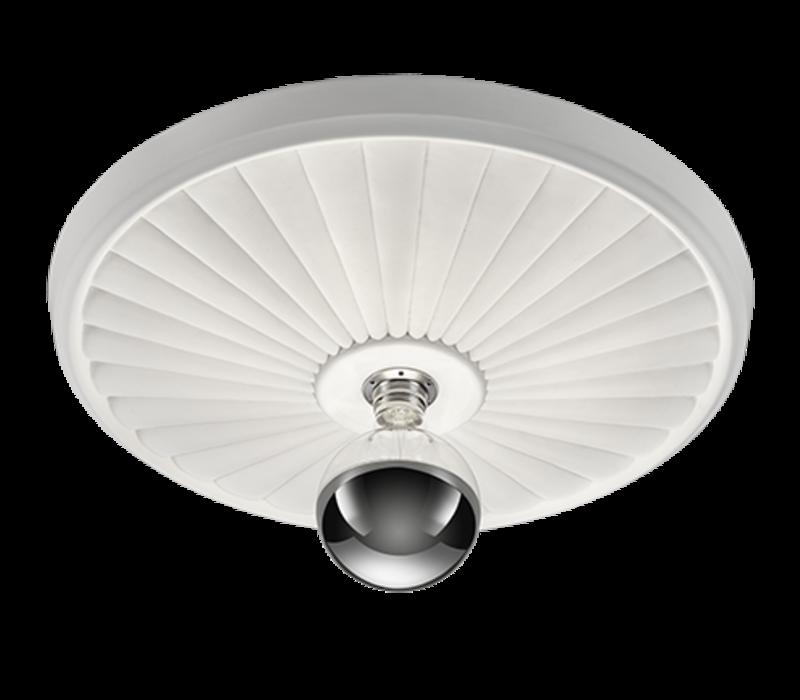 Plafondlamp Iris gips Ø 55 cm