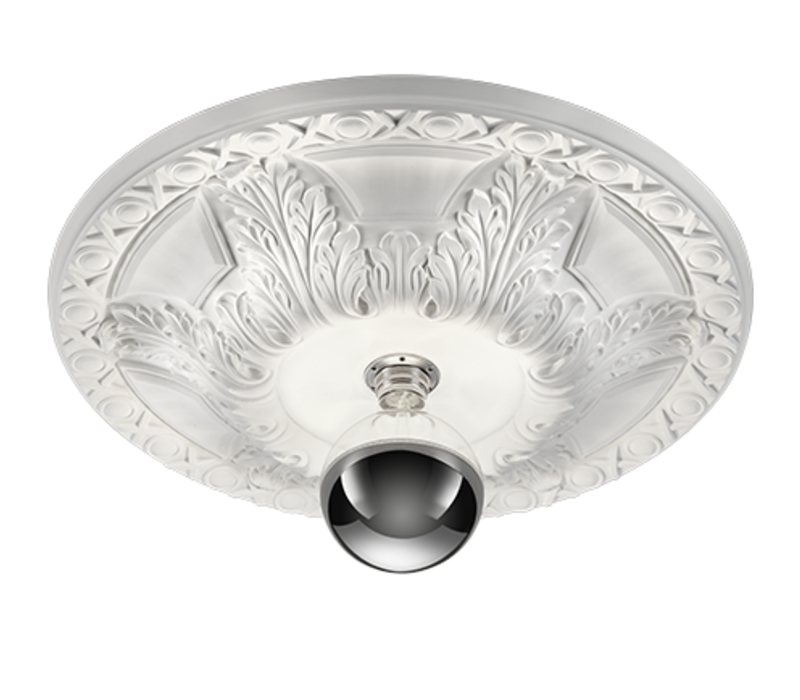 Plafondlamp Lilly gips Ø 55 cm