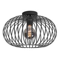 Plafondlamp Aglio Ø 40 cm zwart