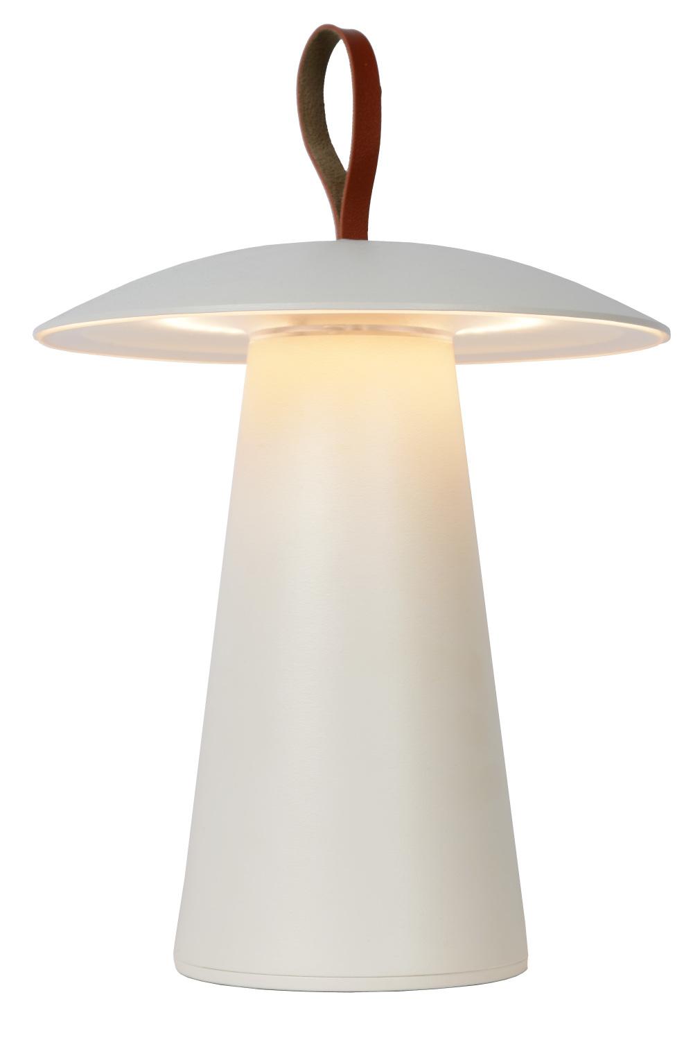 Lucide LA DONNA Tafellamp Led 2W 2700K Wit