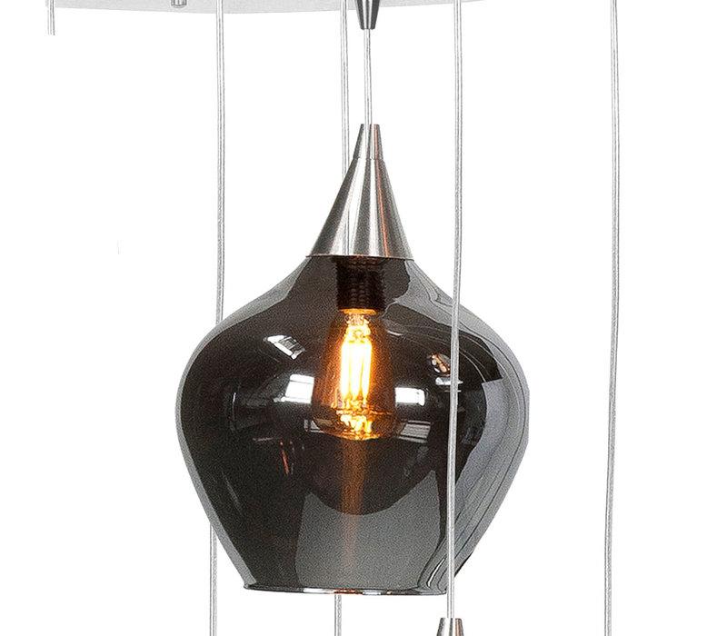 Hanglamp Cambio 8 lichts L 95 x  B 40 cm
