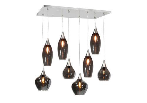Highlight Hanglamp Cambio 8 lichts L 95 x  B 40 cm