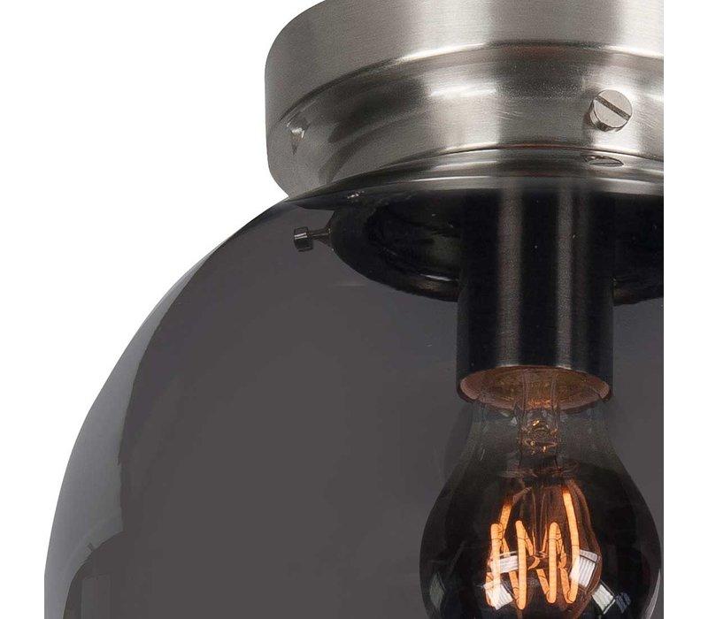 Plafondlamp Deco Globe Ø 25 cm rook