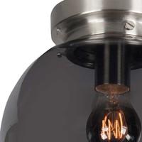Plafondlamp Deco Globe Ø 30 cm rook