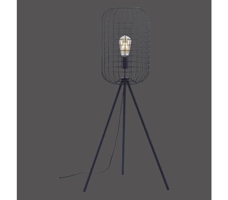 Vloerlamp Fabio Korf H 95 cm zwart