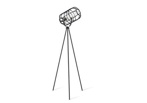 Paul Neuhaus Vloerlamp Fabio Industrieel H 162 cm zwart