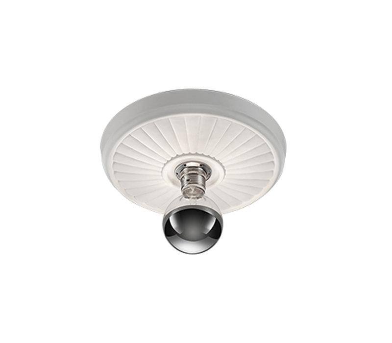 Plafondlamp Iris gips Ø 30 cm