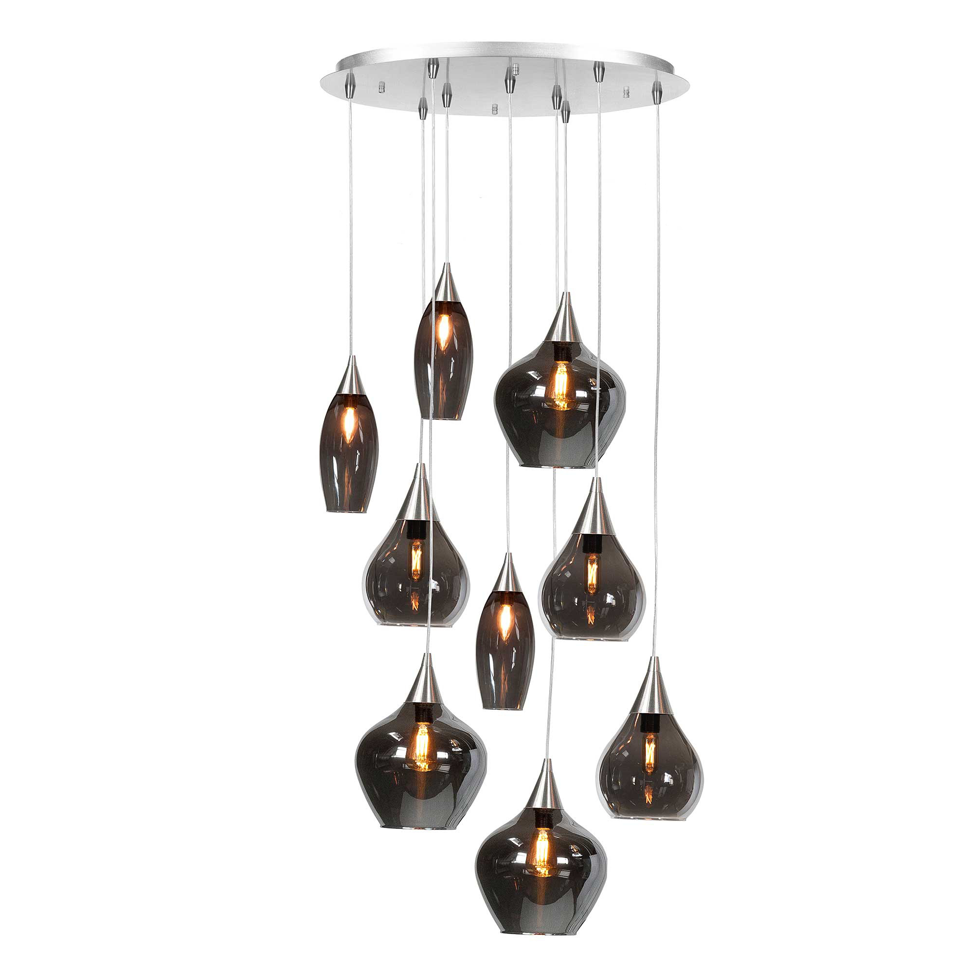 Highlight Hanglamp Cambio 9 lichts Ø 60 cm Vide