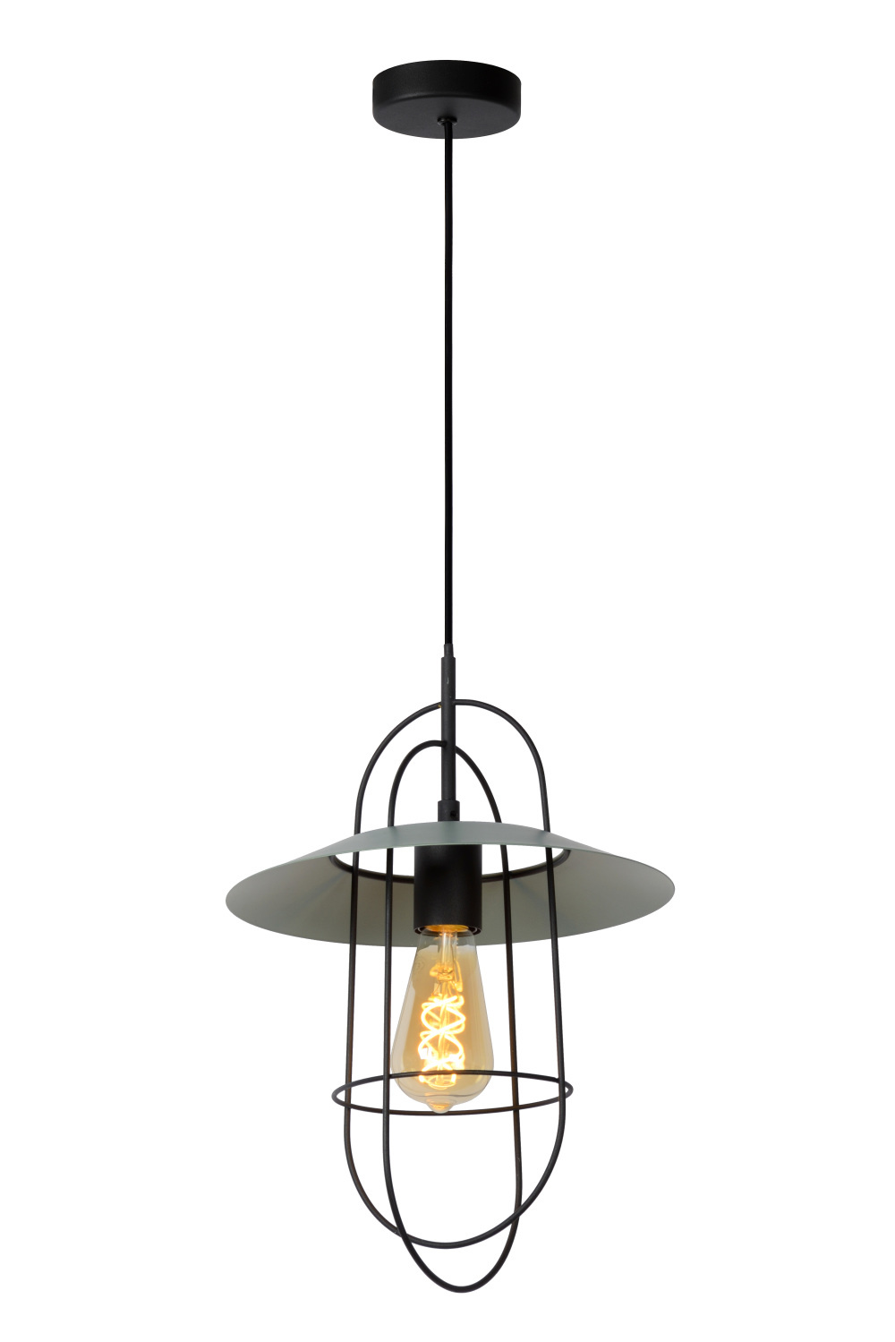 Lucide MASSON Hanglamp E27/40W Turkoois