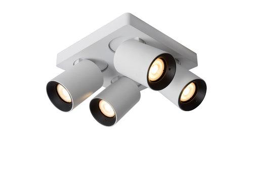 Lucide NIGEL Plafondspot-Wit-LED DTW-4xGU10-5W