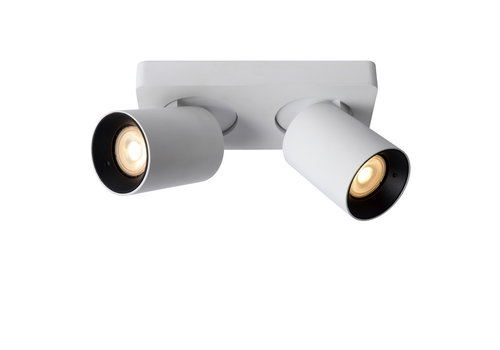 Lucide NIGEL Plafondspot-Wit-LED DTW-2xGU10-5W