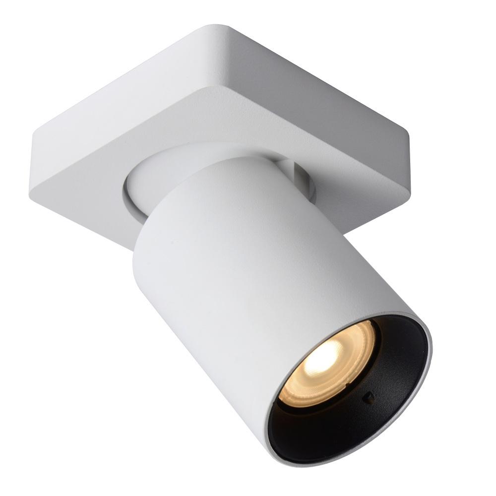 Lucide NIGEL Plafondspot-Wit-LED DTW-1xGU10-5W