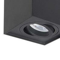 Spot Maxi Rebel Vierkant  B 10 cm zwart