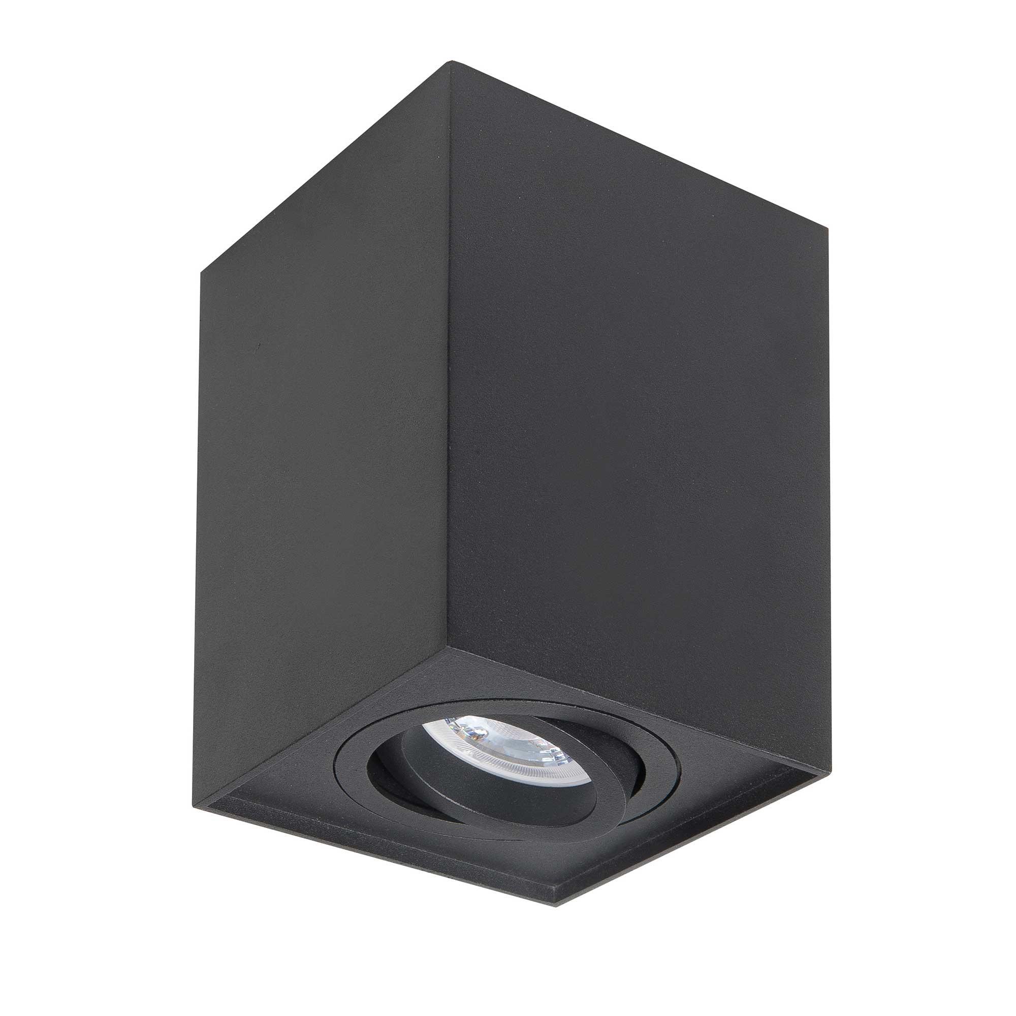 Highlight Spot Maxi Rebel Vierkant B 10 cm zwart