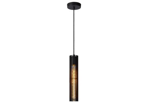 Lucide LIONEL Hanglamp 1xE27/40W Zwart