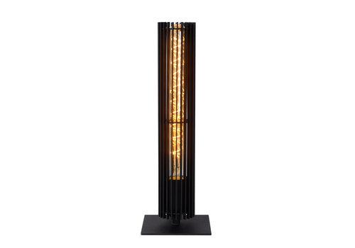 Lucide LIONEL Tafellamp 1xE27/40W Zwart