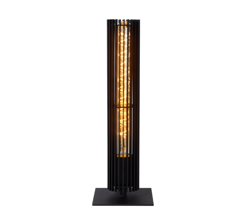 LIONEL Tafellamp 1xE27/40W Zwart
