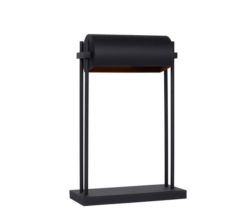 ELIAS Tafellamp E27/60W H45cm Zwart