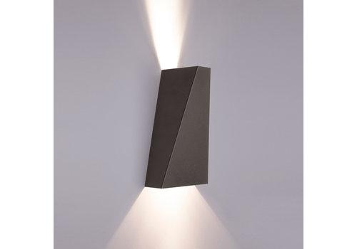 Nowodvorski Wandlamp Narwik 2 lichts H 24,5 cm zwart