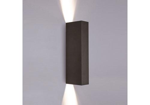 Nowodvorski Wandlamp Malmo 2 lichts H 30 cm zwart