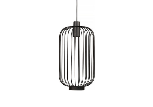 Nowodvorski Hanglamp Cage Ø 30 cm zwart