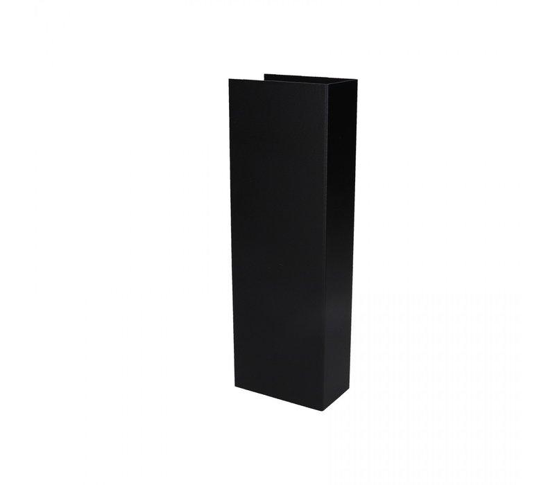 Wandlamp Malmo 2 lichts H 30 cm zwart