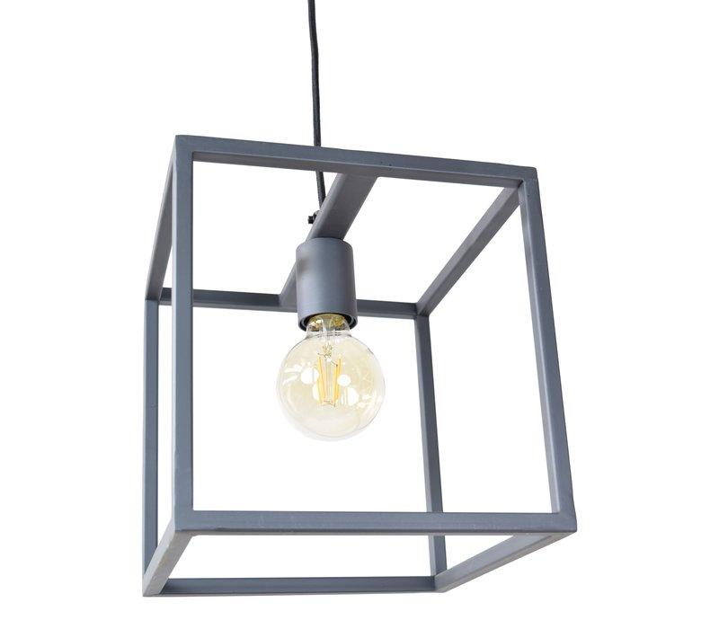 Hanglamp Frame L 25 cm B 25 cm zwart