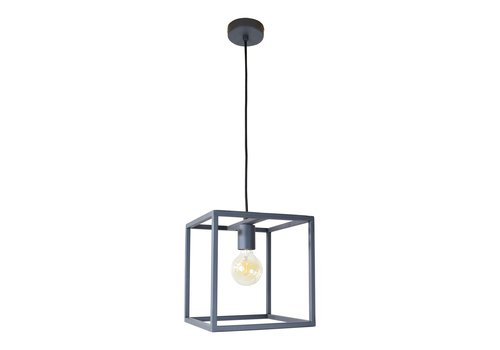 Urban Interiors Hanglamp Frame L 25 cm B 25 cm zwart