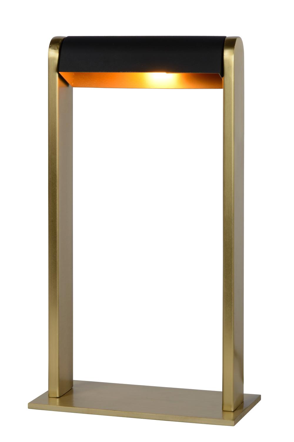 Lucide LORAS Tafellamp-Mat Go.-1xG9-33W-Staal