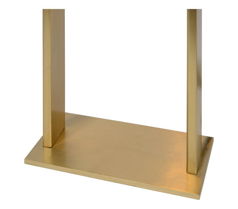 LORAS Tafellamp G9/max 33W Mat goud / Zwart