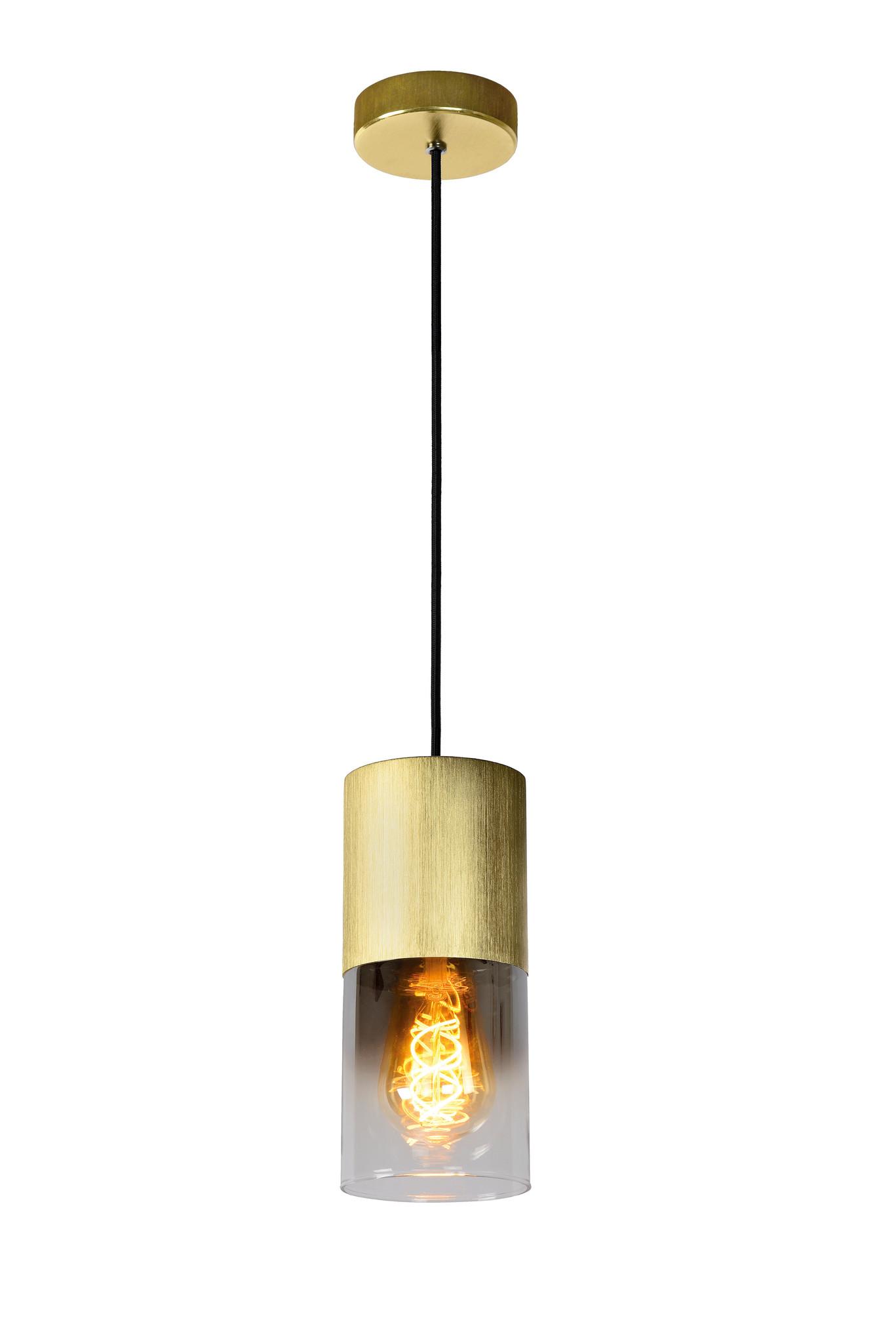 Lucide ZINO Hanglamp-Mat Go.-Ø10-1xE27-60W-Alumin.