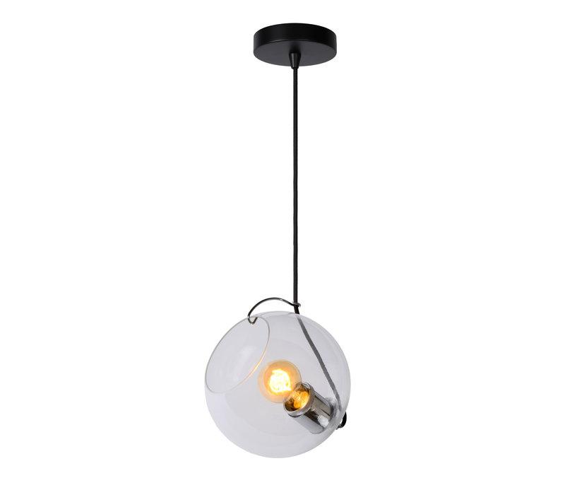 JAZZLYNN Hanglamp E27 Ø20cm Helder glas