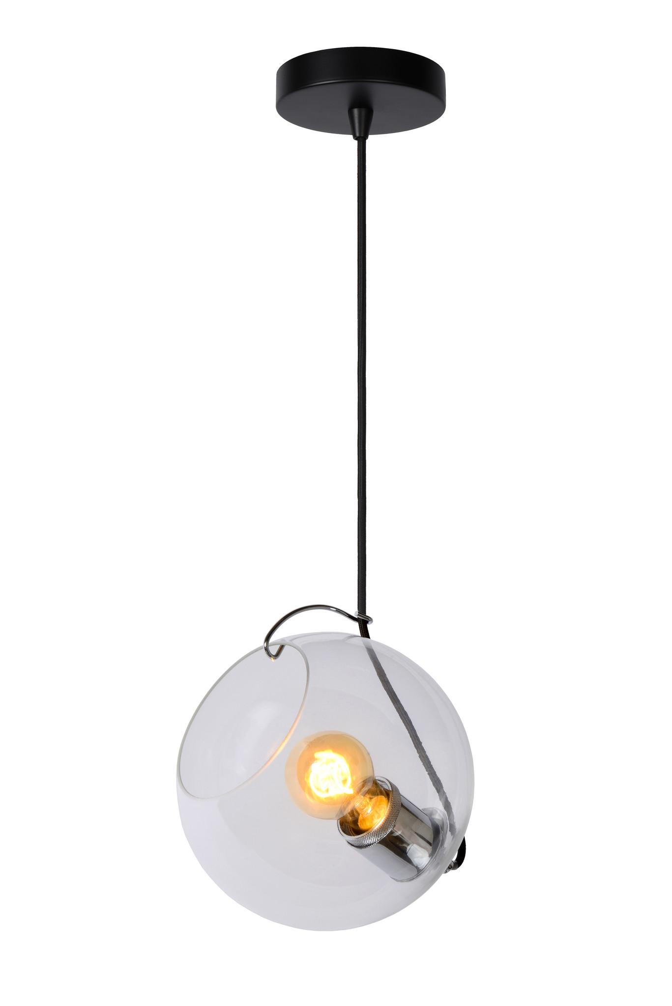 Lucide JAZZLYNN Hanglamp E27 Ø20cm Helder glas