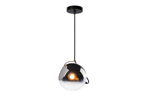 Lucide JAZZLYNN Hanglamp E27 Ø20cm Fume glas
