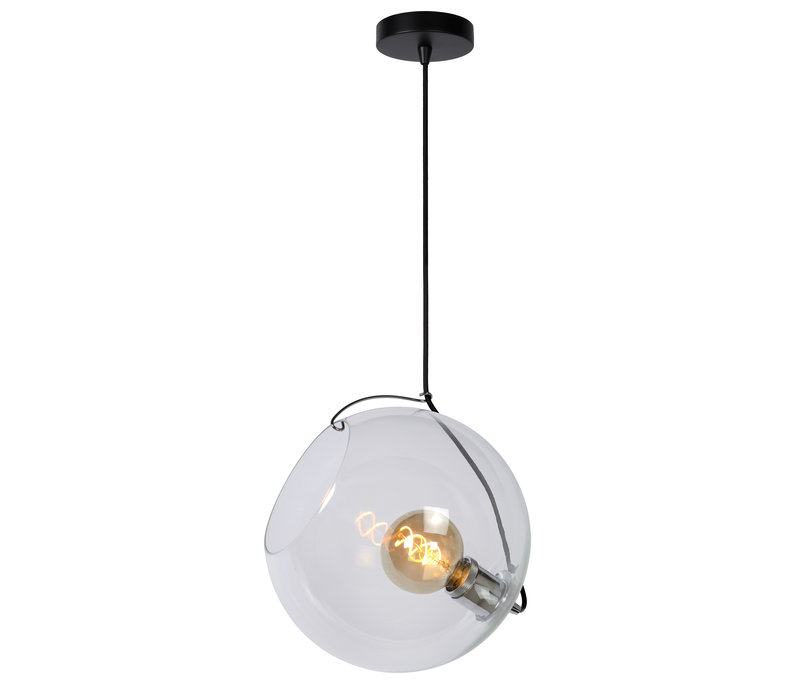 JAZZLYNN Hanglamp E27 Ø30cm Helder glas