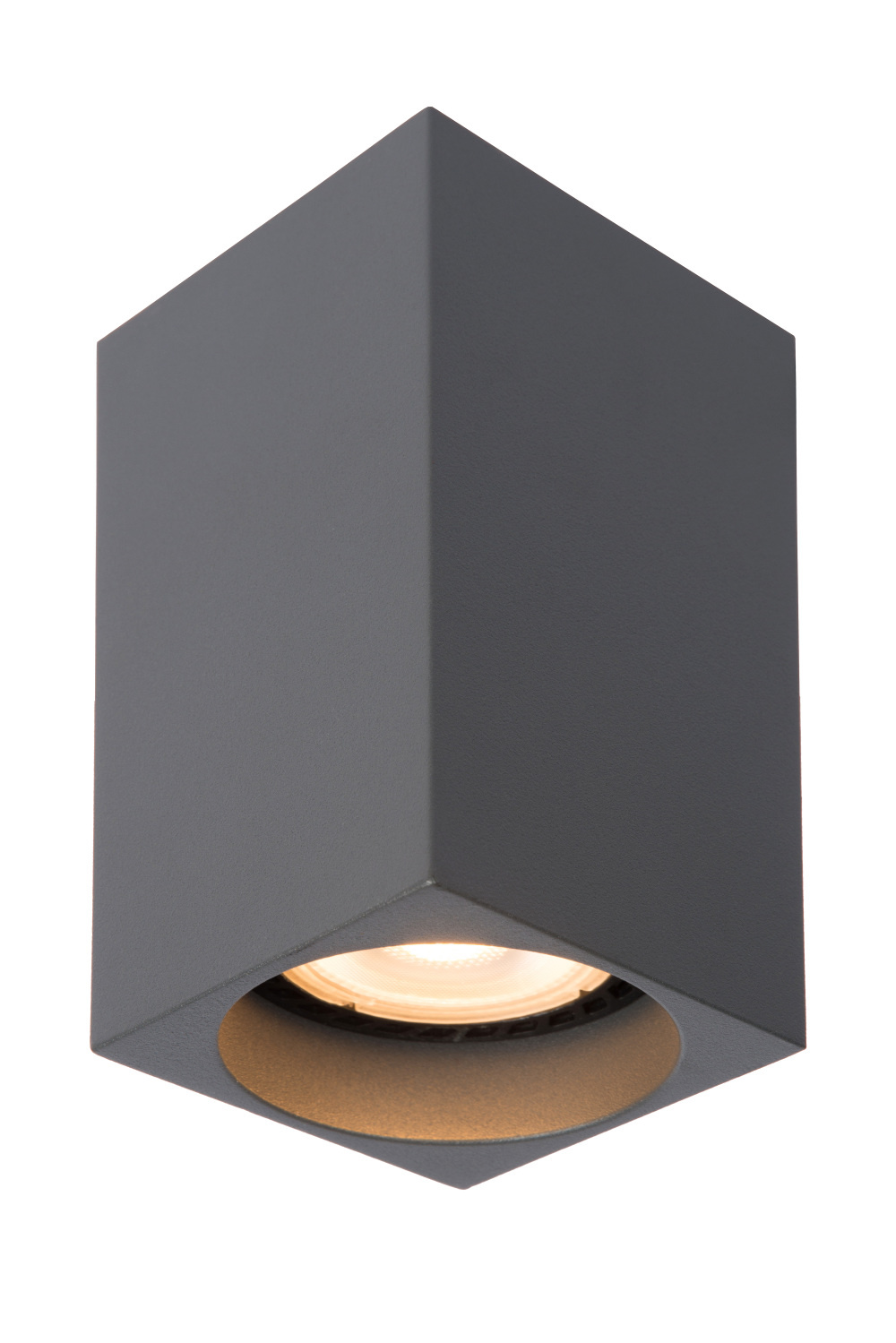 Lucide DELTO LED Spot Vierk. GU10/5W DTW Grijs