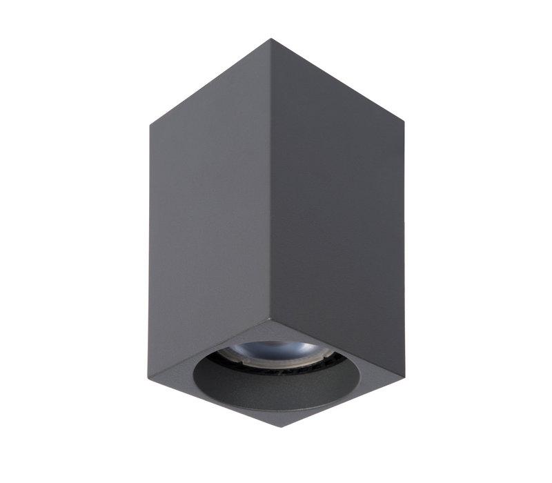 DELTO LED Spot Vierk. GU10/5W DTW  Grijs
