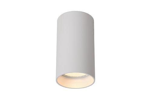 Lucide DELTO LED Spot rond GU10/5W Ø5.5 DTW H10cm Wit