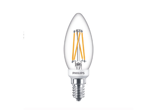 Philips LED E14 kaars 25-3,5 Watt Philips warmglow filament DIM