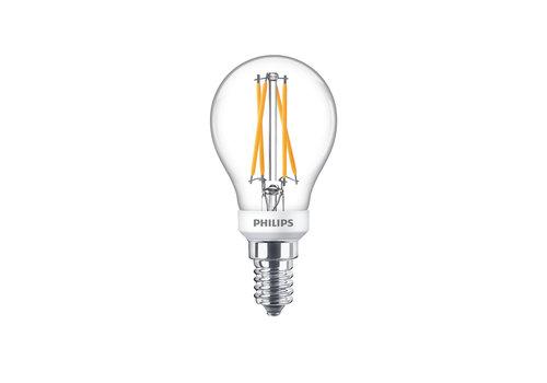 Philips LED E14 kogel 25-3,5 Watt Philips warmglow filament DIM