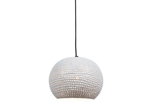 Urban Interiors Hanglamp Spike bol Ø 27 cm Wit