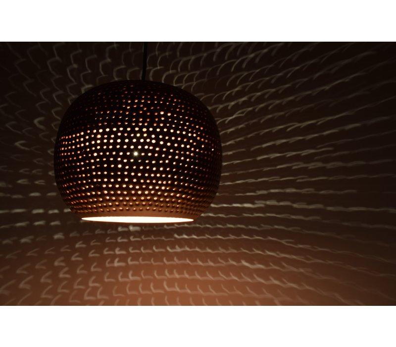 Hanglamp Spike bol Ø 27 cm Koper