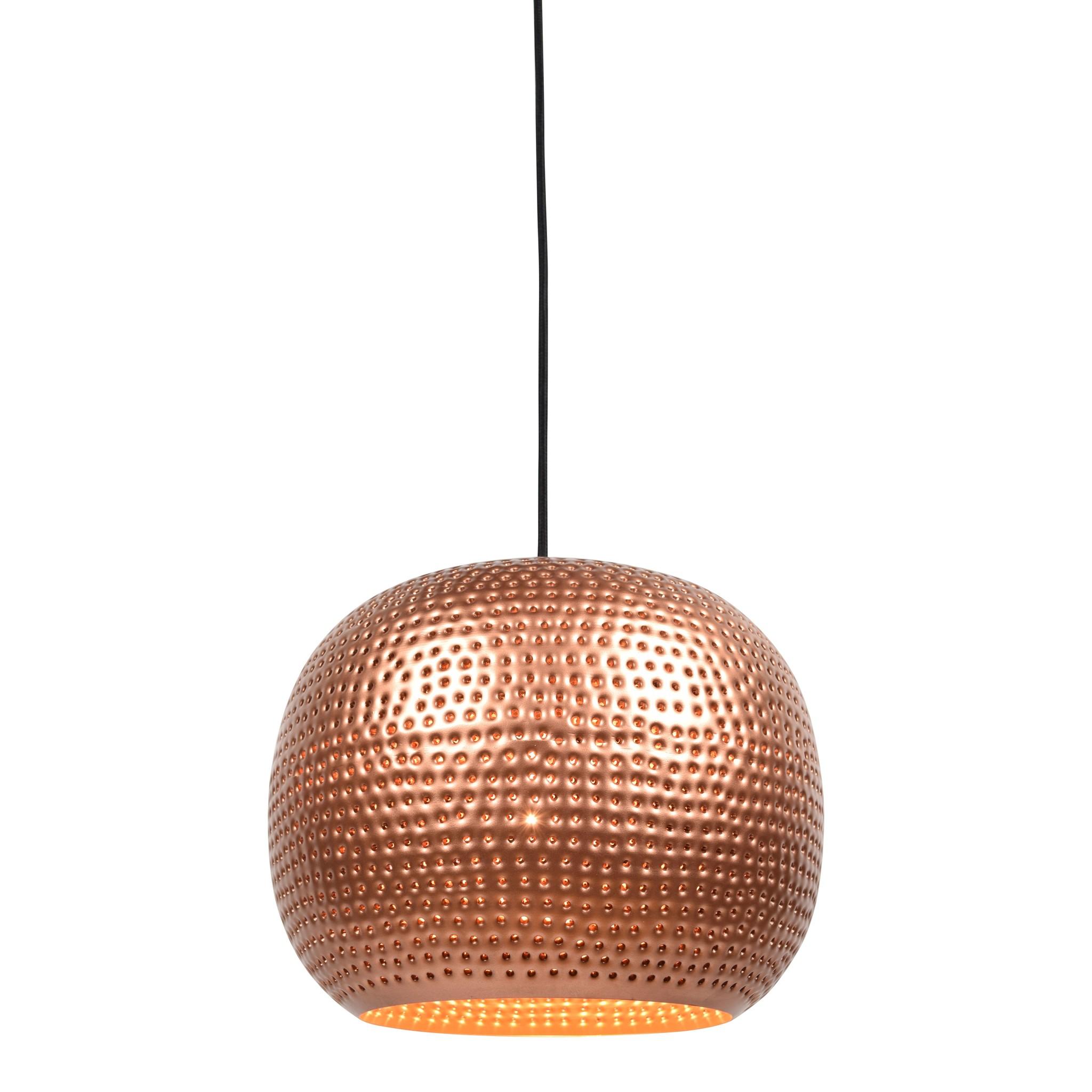 Urban Interiors Hanglamp Spike bol Ø 27 cm Koper