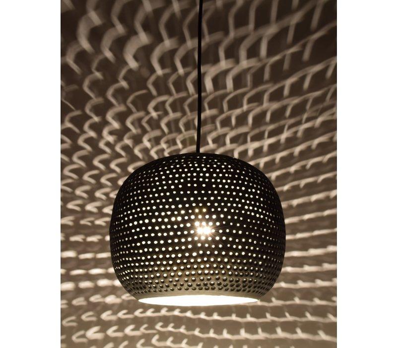 Hanglamp Spike bol Ø 27 cm Zink